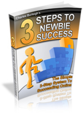 Product picture 3 Steps to Newbie Success Make money online