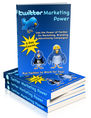 Product picture Twitter Marketing Power Make money online